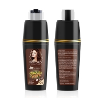 Buy cheap Coconut Nut Oil Natural Brown Hair Color Shampoo No Side Effect product