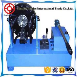 Buy cheap hydraulic hose crimping machine CE certification high pressure hot sale product