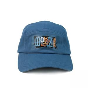 Buy cheap Twill 5 Panel Camper Hat With Screen Printed Nylon Webbing product