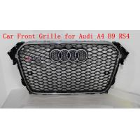 Buy cheap Front Grill With Parking Sensor Hole A4 B9 RS4 Grille For Audi 2013 up Q4 Q5 Q6 Q7 A4 A5 A6 A7 product