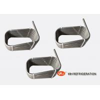 Buy cheap Stainless Steel Counterflow Chiller Tube Heat Exchanger / Twisted Coil Type Evaporator product