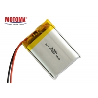 Buy cheap Rechargeable Lithium Ion Battery Pa Pack 3.7 V 720mah 460Wh/L For IOT Device product