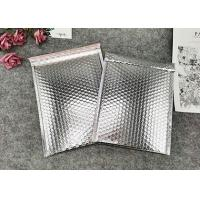 Buy cheap Metallic Foil Silver Bubble Package Envelope Shock Resistance Custom Logo product