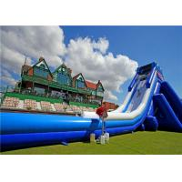 Buy cheap Adult Size Inflatable Giant Slide Wet Dry Colorful Stable Structure Low Maintenance product