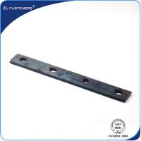 Buy cheap Insulated Light Railway Fish Plate Steel 4.8 Grade OEM / ODM Available product