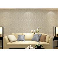 Buy cheap Colorful Floral Non woven European Style Wallpaper room design Wet embossed from wholesalers