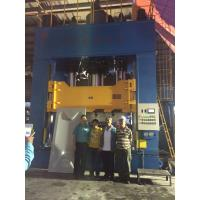 Buy cheap 1500 Ton Hydraulic Press Machine , SMC Moulding Press PLC Controlled product