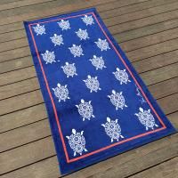 Buy cheap Woven Luscious Sea Turtle Beach Towel Color Fastness For Dorm Life product