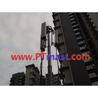 Buy cheap High mobile telescopic antenna tower and telecommunication mast from wholesalers