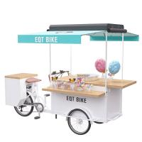Buy cheap Customized Pedal / Electric Mobile Snack Cart User - Friendly With High Durability product
