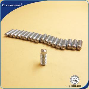 Buy cheap DA - RD , DA - PD Drawn Arc Weld Studs Zinc Plated / Copper Plated Finish product