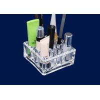 Buy cheap Acrylic Makeup Storage Organizer Retail Window With 9 Round Compartments product