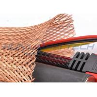 Buy cheap Meta Tinned Copper Braided Sleeving , Expandable Cable Shielding Sleeve product