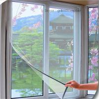 Buy cheap Easy installation Anti mosquito DIY Magnetic Properties flyscreens product