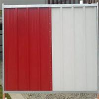 Buy cheap ISO9001 Steel Temporary Site Hoarding Fence Panels In Construction Sites product