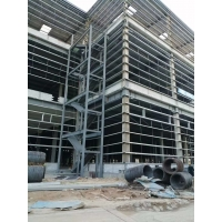Buy cheap 40HQ Loading Q235B Multi Floor Warehouse Steel Structure product