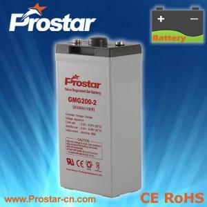 Buy cheap Prostar Gel Battery 2V 200AH product