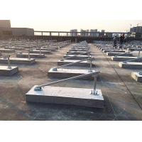 Buy cheap Cement Blocks Solar Panel Roof Mounting Systems Iron Sheet Stainless Steel product