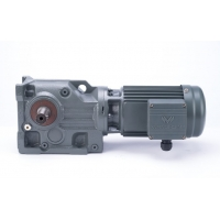 Buy cheap Best Price Wanshsin Grey K Series Helical Transmission Speed Reducer AC Electric Bevel Gear Motor product