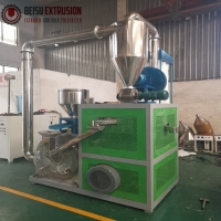 Buy cheap 500kg/H 10mm LDPE LLDPE Pe Pulverizer With Disc Blade product