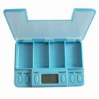 Buy cheap Vibrating Pillbox with 5 Alarm Settings product