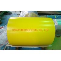 Buy cheap Yellow Blue Red SGCC Galvanized Color Coated Steel Coil With 900mm - 1250mm Width product