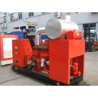 Buy cheap 100kw Soundproof Gas Backup Generator Water Cooled Biogas Engine With Gas Mixer from wholesalers