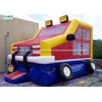 Kids Parties Car Castle Inflatable Bounce Houses with 0.55MM PVC Tarpaulin