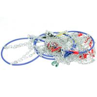 Buy cheap 9mm D Type Tire Snow Chains Snow Chains For Cars , Corrosion - Resistant product