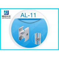 Buy cheap Plate Type Connection Sandblasting Aluminium Tube Joints Parallel Holder AL-11 product