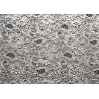 Buy quality Nylon Rayon Viscose Corded Lace Fabric Jacquard Shrink-Resistant CY-LW0733 at wholesale prices