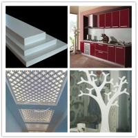 Quality 4x8 feet Plastic Pvc Foam Board Sheet For Wall Decoration with hard surface for sale