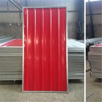 Buy cheap Blue White Red Color Steel Temporary Hoarding Panels 2.0m * 2.1m For Australia product
