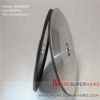 Buy cheap 4A2 resin bonded diamond grinding wheels for carbide profile grinding Alisa@moresuperhard.com product