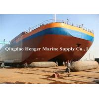 China Floating Pontoon Boat Salvage Airbags With High Kneading Resistance Capability on sale