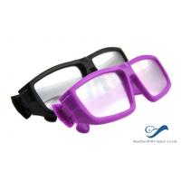 Buy quality Plastic Frame Circular Polarized 3D Glasses Anti Scratch For Cinema at wholesale prices