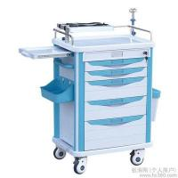 Buy cheap Hospital Stainless Steel Luxury Anesthesia Trolley Emergency Trolley/ First aid, anesthesia, daily care product