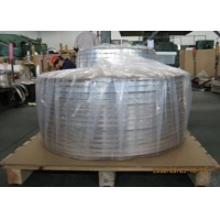 Buy cheap Electric Conductivity Aluminium Tape For RF Cable Shielding 0.015 - 0.2mm product