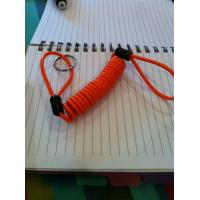 Loop on each end for high quality plastic stopdrop tooling coil lanyard cable custom leash
