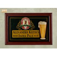 Buy cheap 3D Wood Wall Plaques Antique Wooden Wall Signs Home Decorations Decorative Pub Wall Sign product
