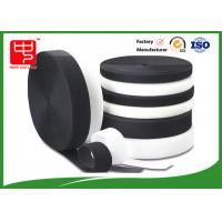 Buy cheap Grade A Heavy duty fabric hook and loop fasteners 100% nylon black and white product
