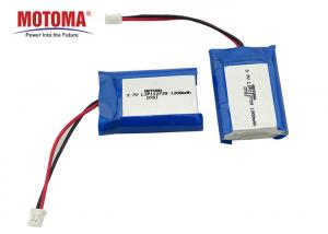 Buy cheap 3.7V 1200mAh Rechargable Lithium-Ion Battery 1.1*27*39mm Motoma Batteries For IOT Devices product