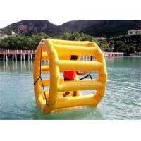 Buy cheap Durable Inflatable Water Toys Wheel , Water Sports Ball Large Commercial Grade product