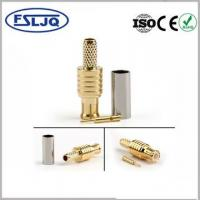 Buy cheap RG316 Male MCX Cable Connector PTFE Insulators 0 - 6GHz Frequency ISO9001 product