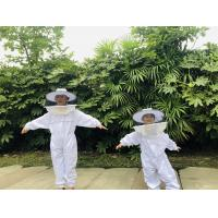 Buy cheap Terylene Honey Bee Protection Suit Kids Beekeeping Protective Clothing With Round Veil product