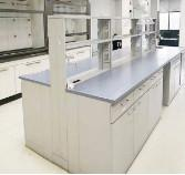 Buy cheap Completed Chemical Laboratory Furniture Lab Casework For New Phenolic Tops product