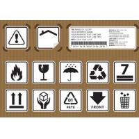 Buy cheap Non Toxic Logistic Labels , Waterproof Design Shipping Address Label product