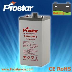 Buy cheap Prostar Gel Battery 2V 300AH product