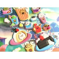 China Animal Foam Stickers Cute Animal Puffy Sticker For Party Happy Gathering Tea Time Cake Time on sale