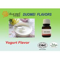 Buy cheap Bright Fermented Brown Yogurt Liquid Food Flavor Propylene Glycol Flavoring product